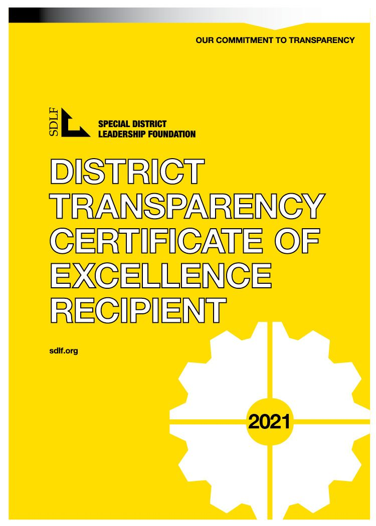 SDLF Transparency Award 2021